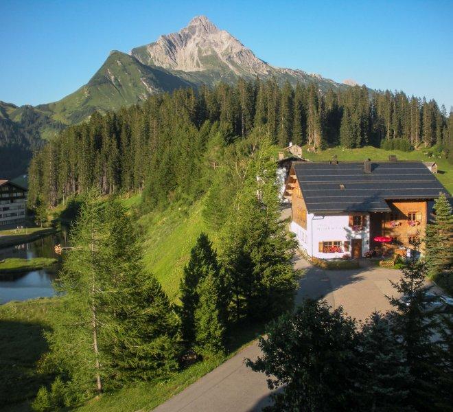 Haus Hubertus Warth Arlberg