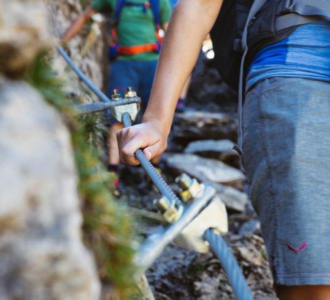 Klettersteig Warth