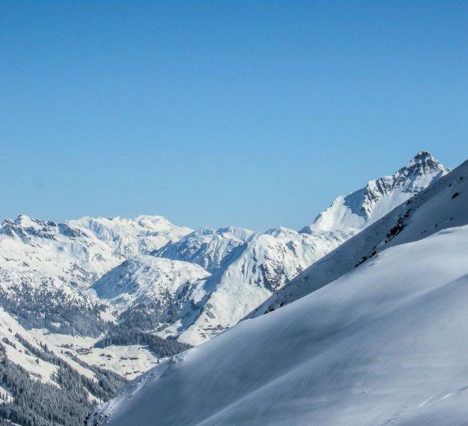 Winterlandschaft Arlberg