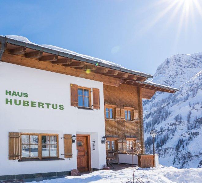 Haus Hubertus Warth am Arlberg