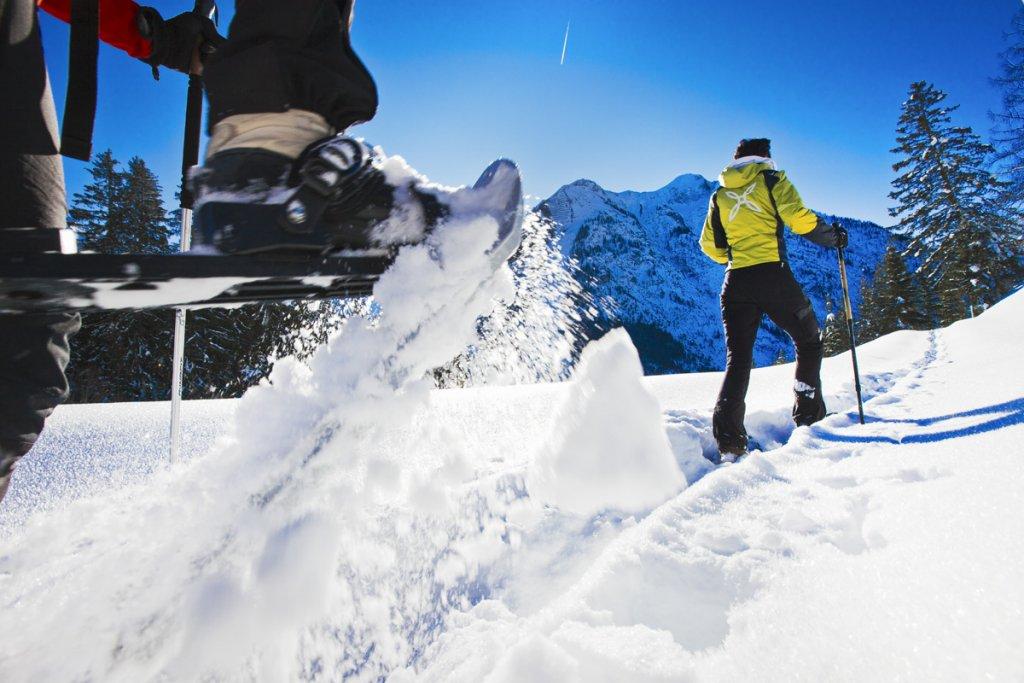 Schneeschuh wandern arlberg
