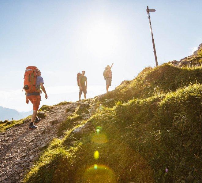 Bergwandern Warth